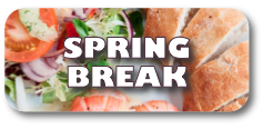 Stay in a country inn Spring Break